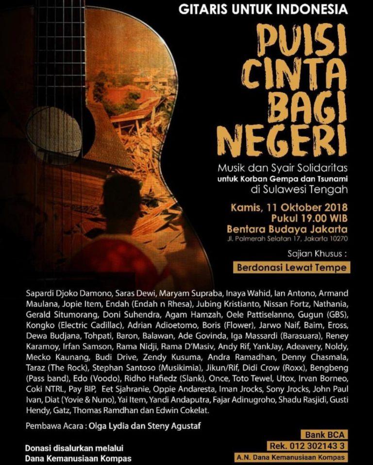Gitaris Untuk Indonesia : Puisi Cinta Bagi Negeri
